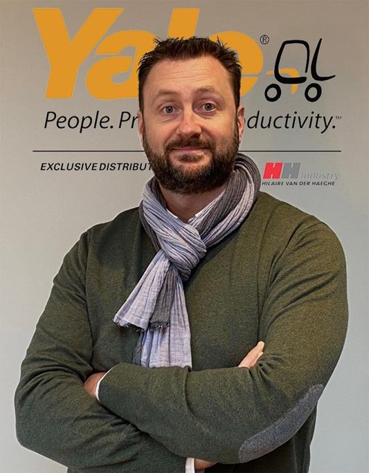 Sébastien Wattiaux: onze heftruckadviseur in Wallonië