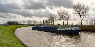 Transport in gunstig vaarwater