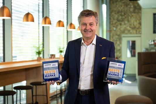 Jungheinrich voor de vierde keer op rij uitgeroepen tot 'Beste Logistieke Merk'