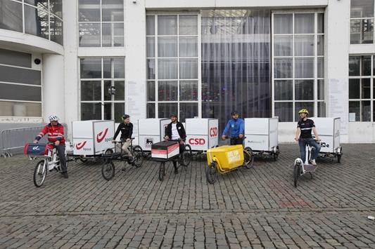 Combinatie stadshubs en cargobikes toont potentieel
