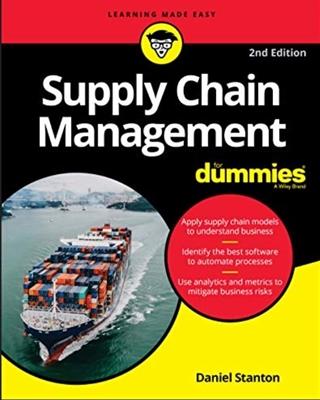 Daniel Stanton is auteur van de bestseller 'Supply Chain Management voor Dummies'.
