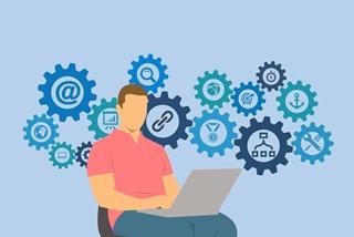 Een digital twin gaat verder dan het traditionele planningsmodel. Het leert de effecten van risico's en evenementen inschatten om de klant kostenefficiënt te bedienen.