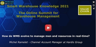 How do WMS evolve to manage men and resources in real-time?