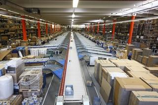 De kern van het systeem: de Natrix sorter van TGW.  Foto: TGW Logistics Group GmbH