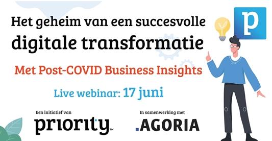 Webinar: Belangrijke inzichten in digitale transformatie en de technologie cruciaal om het verschil te maken.