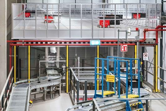 Siemens-fabriek automatiseert magazijn voor kleine onderdelen met Dematic