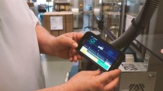 De mobiele toepassing Changeover vereenvoudigt het werk van de operators aan de lijnen.