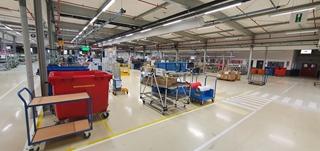 Dymo evolueert stap voor stap naar een 'smart factory' die voluit voordeel haalt uit een datagedreven aanpak.