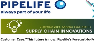 Presentatie Pipelife op Supply Chain Innovations
