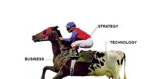 Bedrijfsstrategie als basis voor strategische ICT-keuzes
