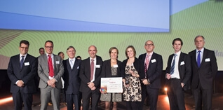 Vlaamse Overheid wint Supply Chain Award-Project of the Year 2014